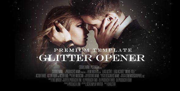 VIDEOHIVE GLITTER OPENER - Adobe After Effects