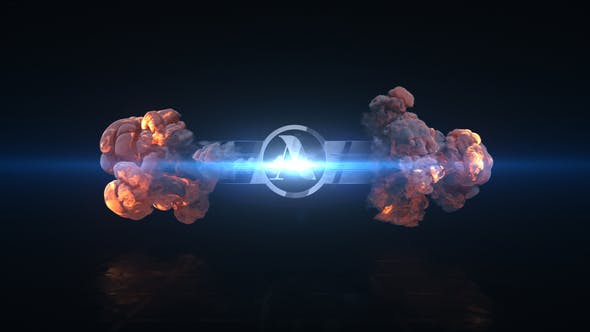 VIDEOHIVE SHORT EXPLOSION LOGO - Adobe After Effects